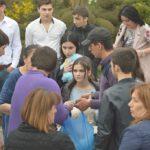 Акция по посадке саженцев сирийской розы