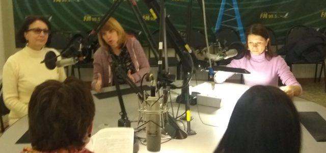 Экологический театр записал на радио 95,5 FM новогоднюю сказку