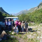 Восхождение на перевал Тоторс