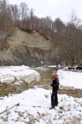 Прогулку одного дня на реке Лахумидон