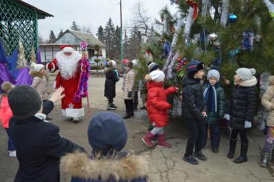 Новогодний праздник с Дедом Морозом в ЭБЦ