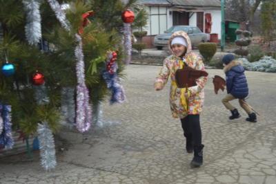 Новогоднее представление со Снегурочкой и Дедом Морозом в Эколого-биологическом центре