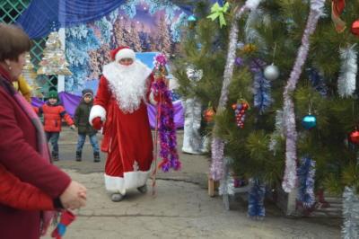 Детский новогодний праздник в ЭБЦ