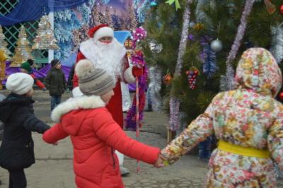 Детский новогодний праздник в Эколого-биологическом центре