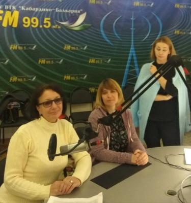 Сказка о потерянном снеге на радио 95,5 FM