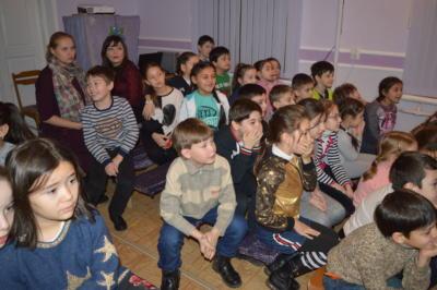 Новогдняя сказка 2019 в Экологическом театре